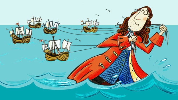 New illustrations for Gulliver's Travels now online at the BBC